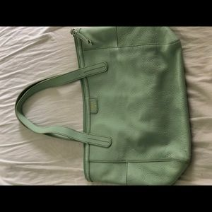 A shoulder bag